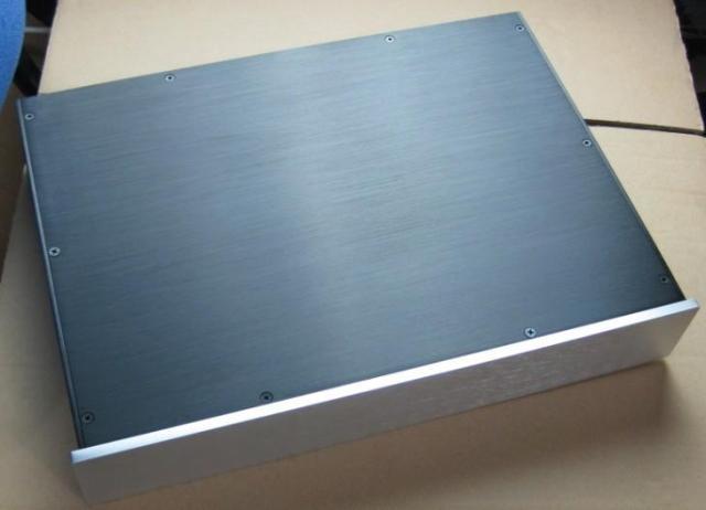 case size 430*70*308mm BZ4307 All aluminum amplifier chassis / Preamplifier / DAC case / AMP Enclosure /amp case / DIY box gaowen g all aluminum enclosure preamplifier chassis diy pre amp case amplifier box 430mm 70mm 308mm