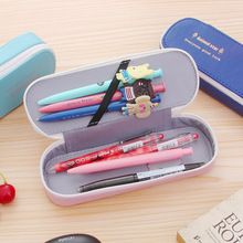 Big Kawaii Pencil Case Quality Large Capacity Pencilcase School Pen Case Supplies Pencil Bag School Box Pencils Pouch Stationery недорого
