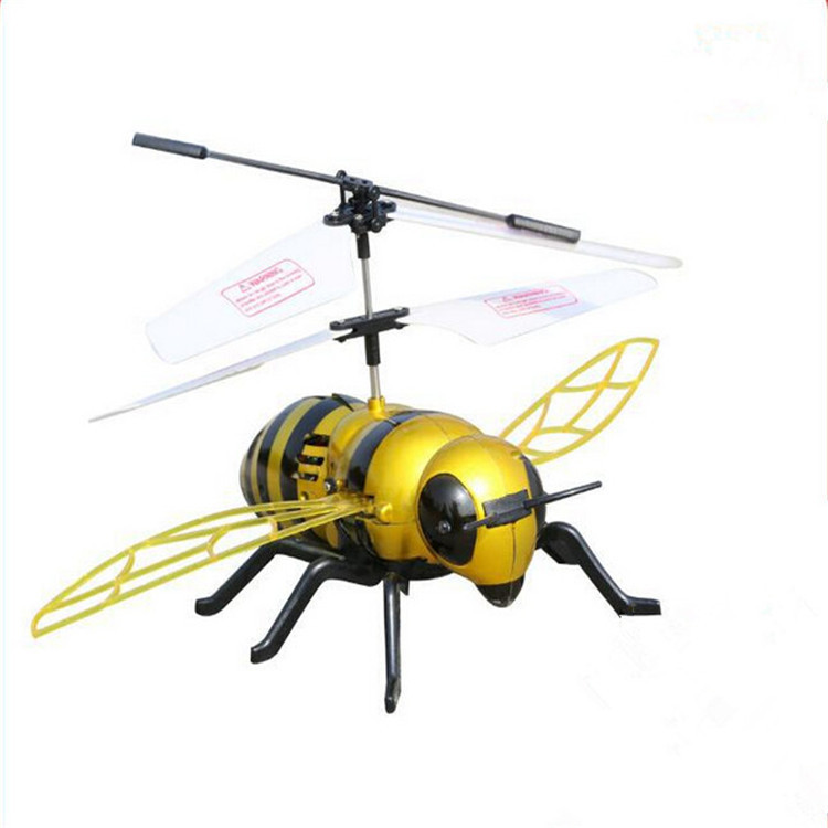 RC Bumblebee Induction Aircraft Toy Helicopter Ultralight ...