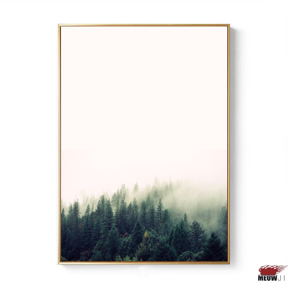 2086163abd0 Posters Wall Art Gedrukt Canvas Schilderij Voor Woonkamer Nordic Decoratie Zwart  wit Strand Oceaan Zee Muur Decor Foto in Posters Wall Art Gedrukt Canvas ...