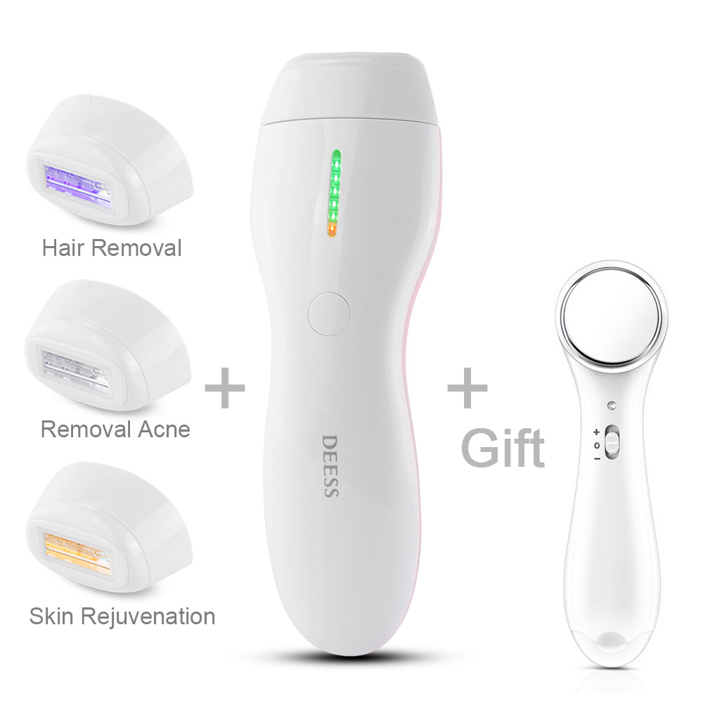 how to use conair hair removal system