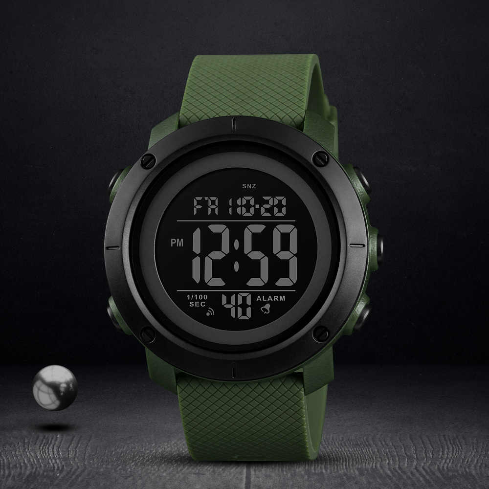 SKMEI Sports Military Watches Men Waterproof Digital Watch Luxury Brand Mens Watches LED Clock Male Relogio Masculino