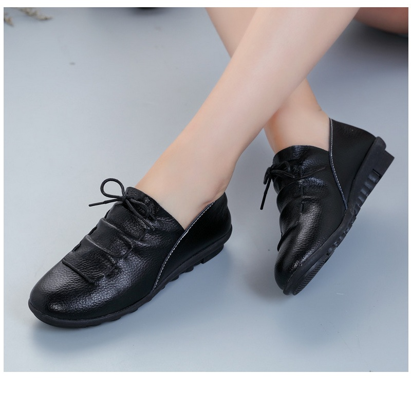 shoes item s loafers new snurulan comfortable fashion flat work in leather driving from lady casual for women genuine comforter flats