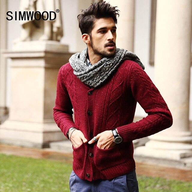 Men\u0027s 70% Wool Mens Sweaters Winter Spring Cardigan Men 2018 New Fashion  Casual Slim Pockets