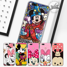 Купить с кэшбэком Mouse for Funda Xiaomi Mi 5X MI 8 Cover Mi 6  8 Coque for Case Xiaomi Redmi 4X 5A 5 Plus Note 5 5A 5 Plus 4 4X 4Pro Phone cases