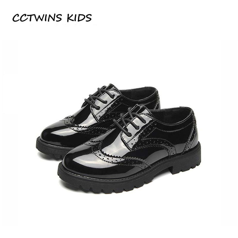 CCTWINS KIDS 2018 Spring Boy Brand Black Oxford Baby Girl Pu Leather Flat Children Fashion Casual Shoe Toddler GX1942 cctwins kids 2018 girl fashion gladiator sandal children pu leather flat shoe toddler brand barefoot sandal baby bg006