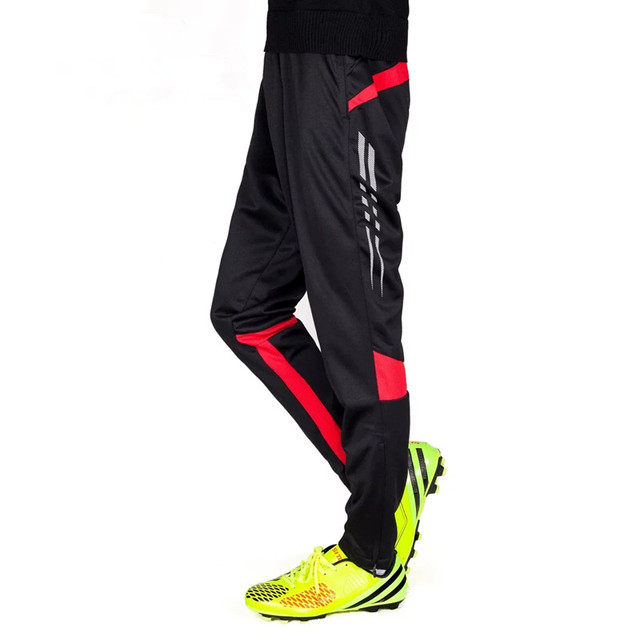 2018 nuevo Pantalones de correr entrenamiento Fútbol Pantalón jogging  activo Pantalones deportes Leggings pista gimnasio ropa a10d6185dcac8
