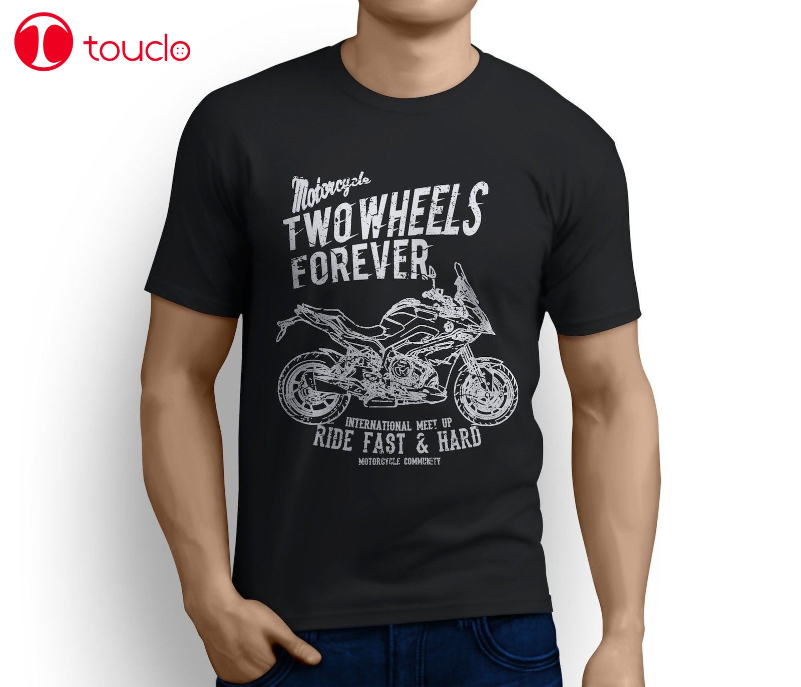 2019 Cool Germany Classic Motorbike S1000Xr 2019 Inspired Motorcycle Fan Art T-Shirts Tee Shirt Sweatshirt image