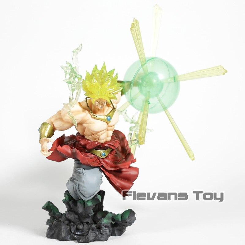 Dragon Ball Z Super Saiyan Broly The Burning Battles PVC Figure Collectible Model Toy