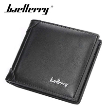 Baellerry brand Wallet men PU Leather men wallets purse short male clutch leather wallet mens money bag quality guarantee new pu leather wallet men wallets luxury brand clutch wallet brown money clip men s leather wallet male purse cuzdan