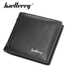Baellerry брендовый мужской кошелек из искусственной кожи мужские