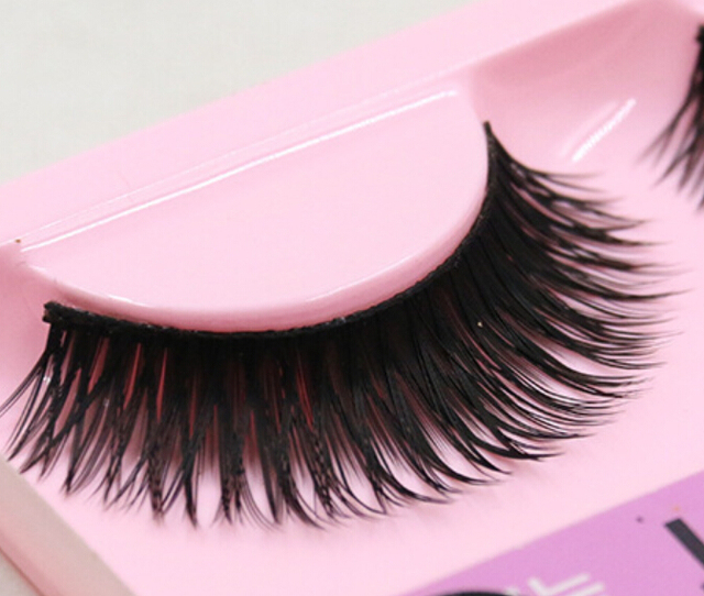 Hot New Handmade Super Thick Fiber Natural Long Eyelashes