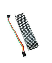 5PCSNEWEST MAX7219 Dot Matrix Module For arduino Microcontroller 4 In One Display with 5P Line
