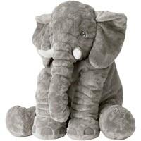 Bande dessinée 40 cm Grande Peluche éléphant en peluche Enfants de Couchage coussin pour le dos oreiller rembourré Poupée Bébé cadeau d'anniversaire pour