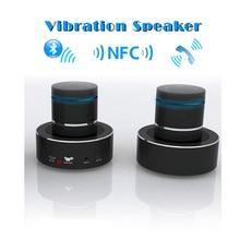 Nouveau Adin Portable 26 W Bluetooth Vibration Super Bass Haut-Parleur Audio in/out BT4.0 Avec NFC Transforme n'importe quelle surface dans un géant haut-parleur