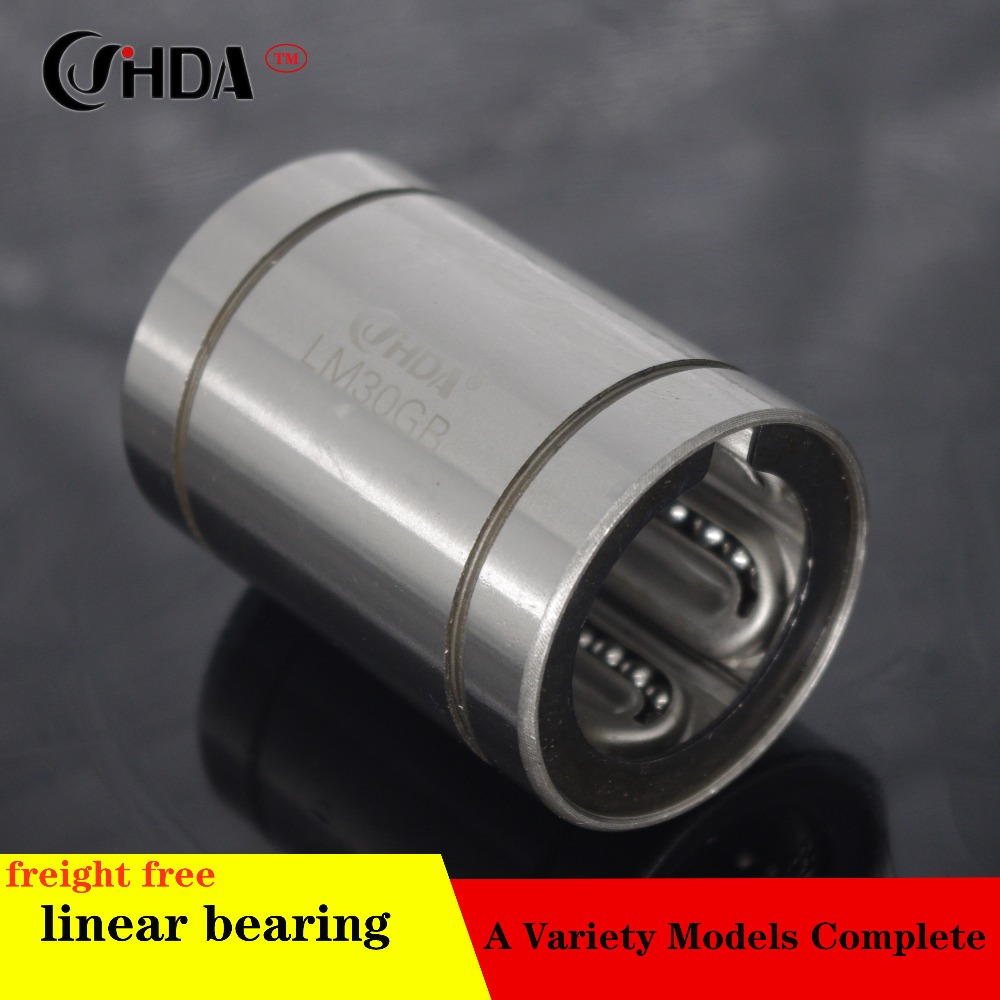 High Temperature Resistance LM30GA Linear Ball Bearings 30x45x64mm  CNC Metal Steel Retainer Linear Bushing LM30UU Sha