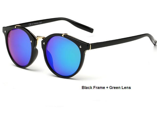 N11 tikri saulės akiniai, vyriški, retro, apvalūs saulės akiniai, - Drabužių priedai - Nuotrauka 3