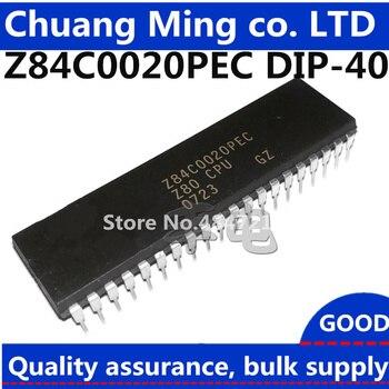 Бесплатная доставка 5 шт. Z84C0020PEC Z84C0020 84C0020 DIP40 Z80 CPU Z80CPU микропроцессор ic