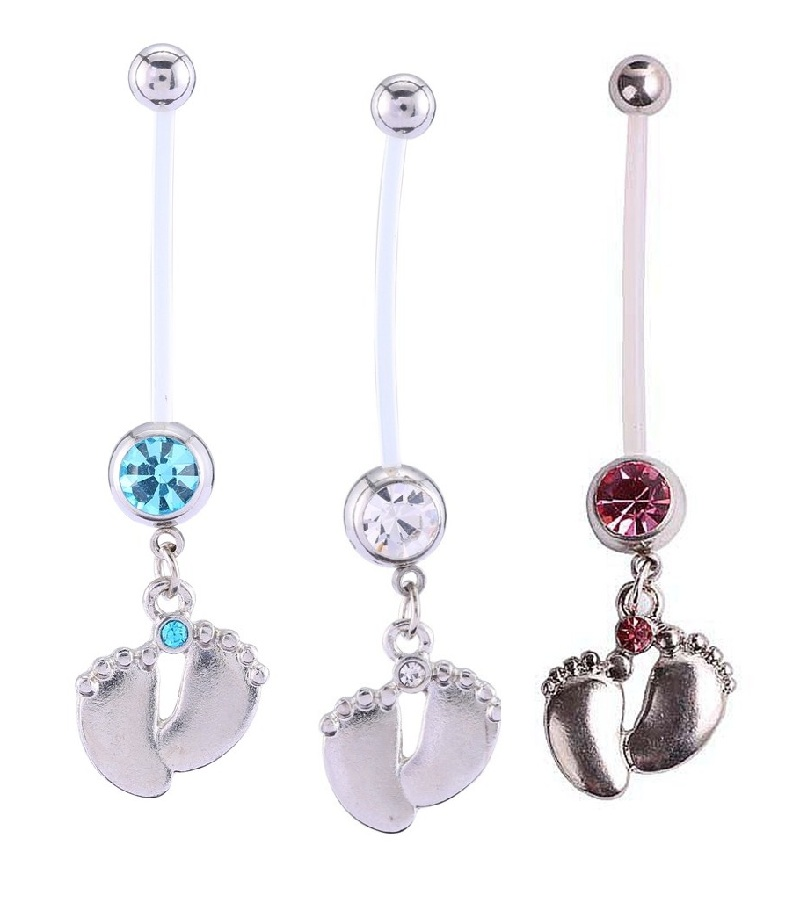 online buy wholesale bioplast belly rings from china
