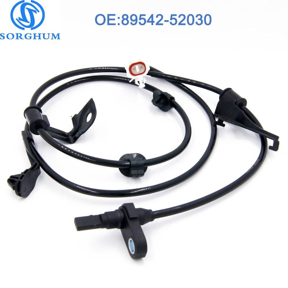 89542-52030 Anteriore Destro ABS Sensore di velocità della ruota per TOYOTA YARIS, SCION XD 89542-52050 89542-0D040 ALS1769 5S8675 8954252030