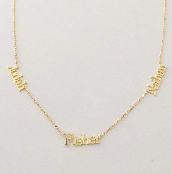 3 placa de Identificação Pingente Nome Personalizado Colares de Prata Dos  Homens Das Mulheres Ouro Rosa Personalizado Gargantilha Colar Para Amigos Da  ... b1c8f531e5