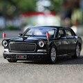 1:32 el envío libre de La bandera roja L5 aleación Diecast Car Model tire hacia Atrás Coche de Juguete modelo de Coche Electrónica con luz y sonido Juguetes de Los Niños