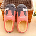 Children Slippers winter cotton slippers Cartoon rabbit cotton mop warm home home slippers   For Foot Length 20 cm -26cm FCS631