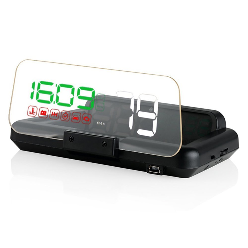 8 Display Mode C500 HD Projector OBD2 Head Up Display Digital Speedometer Clock RPM Car HUD Windshield Projector Stereo Imaging c500 obd2 car speed projector hud head up display digital speedometer clock rpm for universal obd ii car electronics accessories