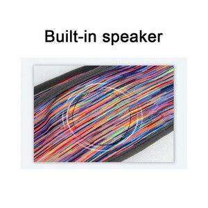 Image 4 - Szalik bezprzewodowy zestaw słuchawkowy Bluetooth Cap słuchawkowe snu z pałąkiem na głowę kapelusz miękkie Unisex sport inteligentny zostało uruchomione słuchawki Stereo S L rozmiar z mic