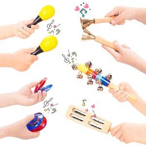 Image 3 - Dụng Cụ Âm Nhạc Đồ Chơi Dành Cho Trẻ Em Bộ Gõ Bộ Cho Bé Mầm Non Giáo Dục Học Âm Nhạc Đồ Chơi Quà Tặng Cho Trẻ Em