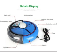 Physical Flycatcher Disc Type Automatic Restaurant Home Hotel Environmental Protection Electric Flies Efficient Pest Trap