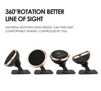 Brand Baseus Universal Magnetic 360 Degree Rotation Phone Car Holder For Xiaomi Mi Max For Xiaomi