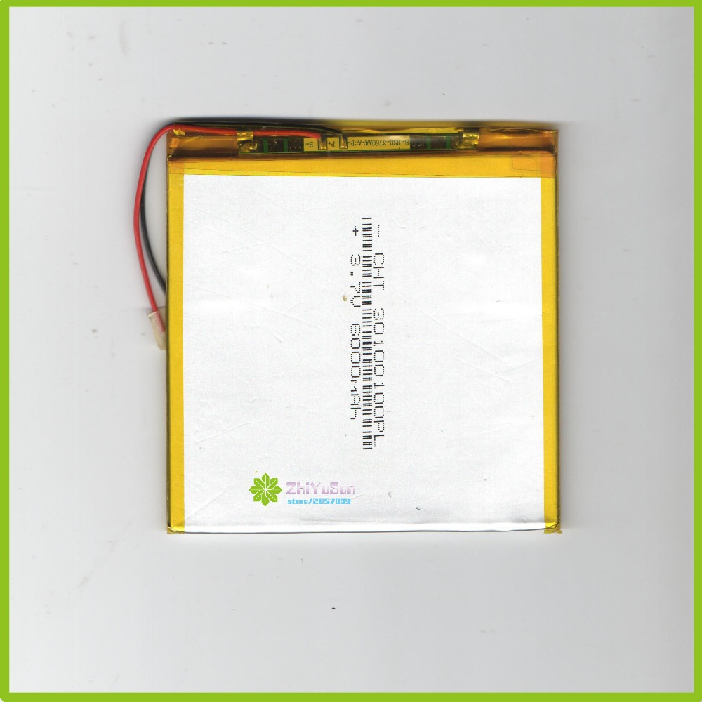 30100100 <font><b>6000mah</b></font> 3.7V NEW Thickness3mm width100mm length100mm tablet PC lithium polymer Liter energy battery 30*100*100 image