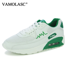 VAMOLASC New Men Sport Running Shoes Breathable Mesh Sneakers Comfortable DMX Outdoor Walking Shoes Cushioning Athletic Shoes
