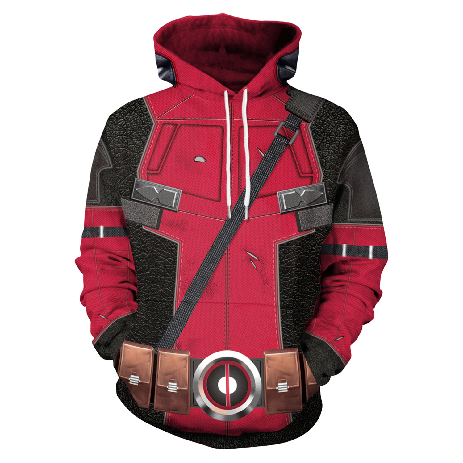 Detail Feedback Questions about Women Hoodies Deadpool 3D Print Hoodie with  Hat Women Loose Sweatshirt Pullover Sudaderas Mujer Couple Clothes Moletom  on ... 63e3bc35742