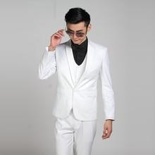 (Jacket + Pants) Fashion Men Business Suits Slim Men's Suits Brand Clothing Wedding Suits For Men Latest Coat Pant Designs