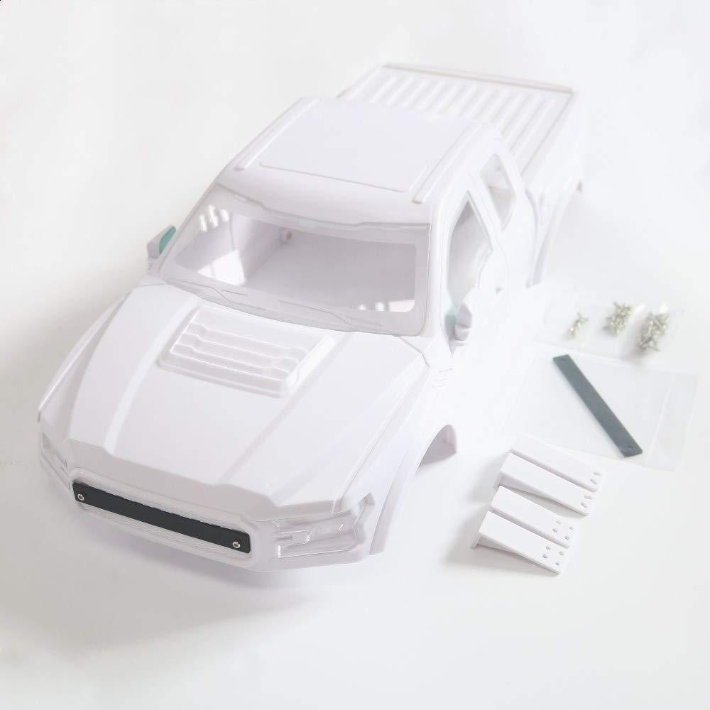 KYX Racing ABS Ford Raptor Hard Body 325mm Truck Body Shell For 1/10 RC Crawler Car Traxxas TRX-4 TRX4