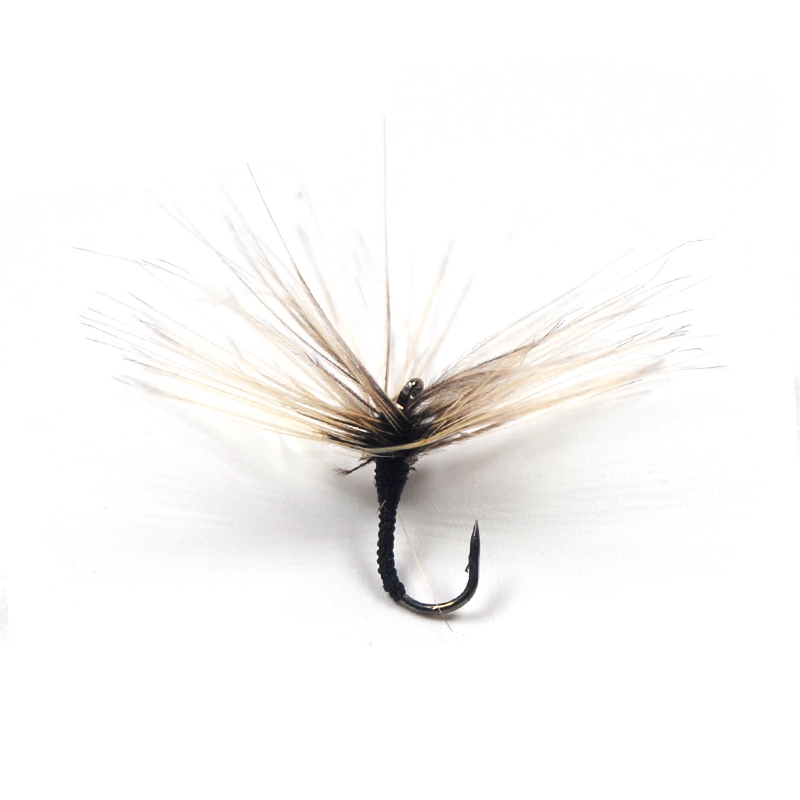 Streamer Fly Fishing Hooks Brown Forged X Strong Tying Salmon Trout Dry Wet Scud