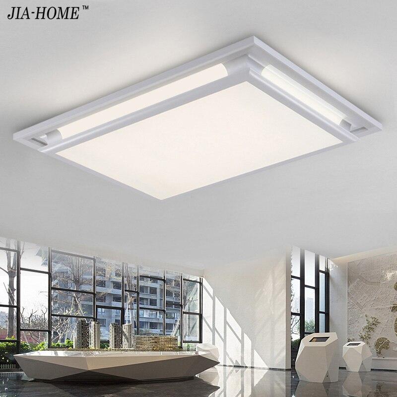 Светодиодные потолосветодио дный чные светильники квадратный белый диммер или переключатель для гостиной retange светодиодный торговый пото...