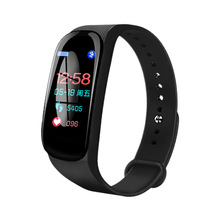 Buy M5 Smart Bracelet Fitness Tracker Upgrade Sport Bracelet ECG Heart Rate Blood Pressure Monitor Oxygen Call Reminder Big Screen directly from merchant!
