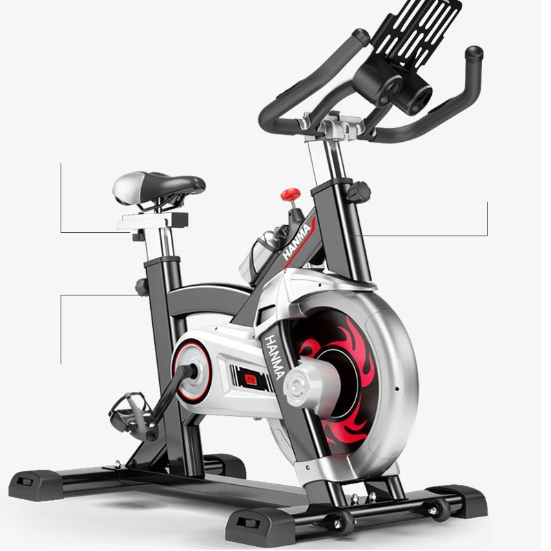 Healthy household bicycle super mute younger dynamic bike fitness equipment pedal bicycle exercise to lose weight ld 988 ultra quiet fitness car home bicycles indoor sports to lose weight fitness equipment load 70kg indoor cycling bikes