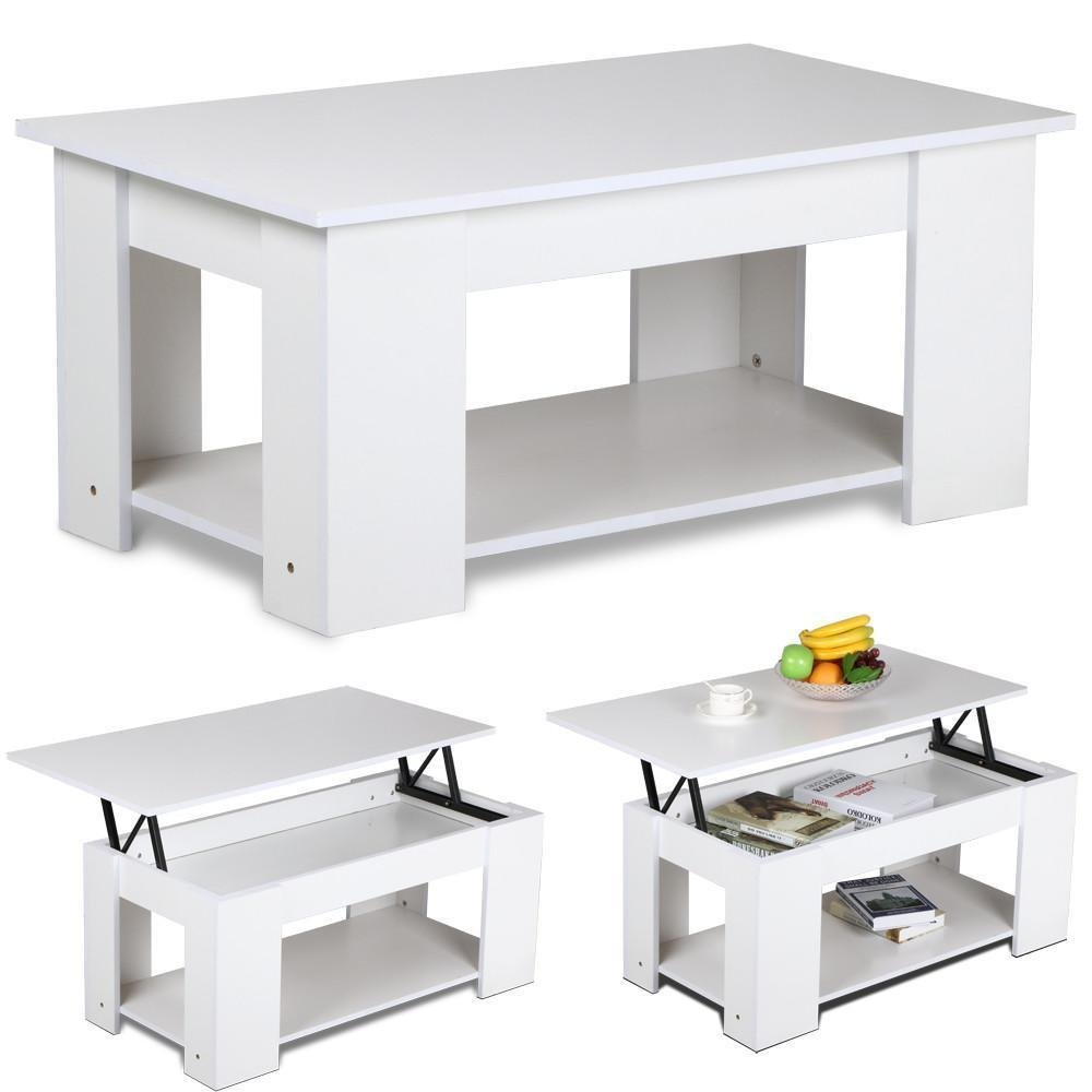 Lift up Top Coffee Table Hidden Storage Compartment Living Room Tea Table Dropshipping