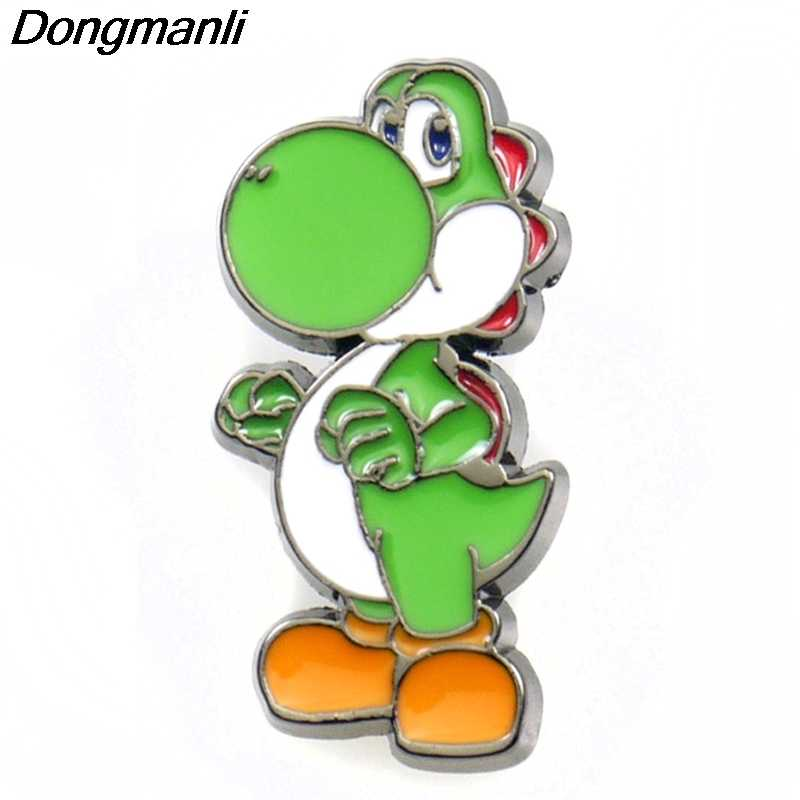 P3901 Dongmanli Mode Kawaii Super Mario Metal Enamel Broches en Pins Collection Revers Pin Badge Sieraden