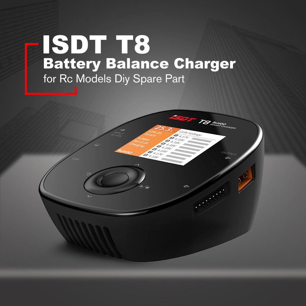 ISDT T8 Battgo 1000W 30A Intelligent Digital Lipo Battery Balance Charger LD