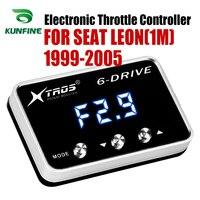 Auto Elektronische Drossel Controller Racing Gaspedal Potent Booster Für SEAT LEON (1 M) 1999-2005 ALLE DIESEL MOTOREN Tuning
