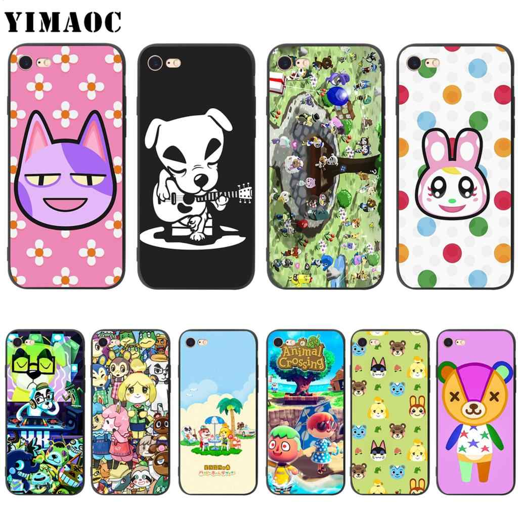 YIMAOC Animal Crossing Soft ซิลิโคนสำหรับ iPhone 11 Pro XS MAX XR X 8 7 6 6S PLUS 5 5 S SE