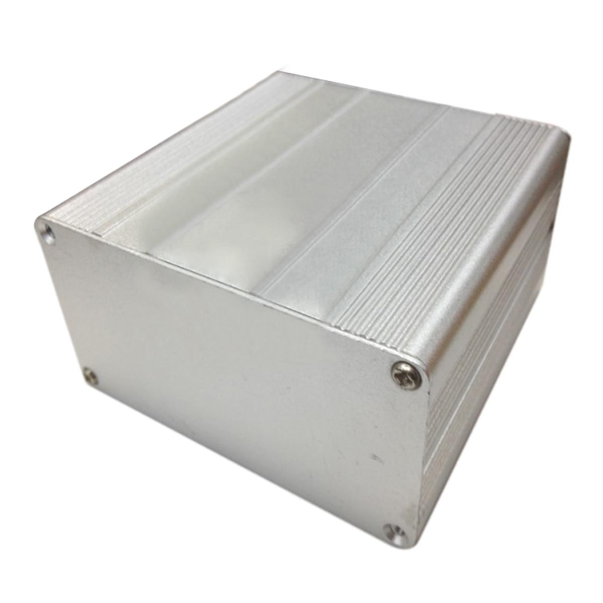 Mayitr Extruded Aluminum Enclosure Case DIY Electronic Project PCB Instrument Box DIY 100x100x50mm 1pc sand blasting oxidation black aluminum case diy project electronic line protection box 10 x 9 7 x 4cm promotion