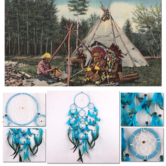 Handmade Rattan Native Dream Catcher
