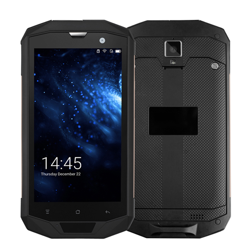 Sincoole Android 7.0 5.0HD 6GB RAM 128GB ROM Qualcomm MSM8916 Quad Core 13MP 4050mAh NFC OTG Rugged phone SM53