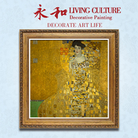 YongHe Western Oil Decorative Painting Vienna Secession Gustav Klimt Customizable Spray Painting Frameless ink Poster